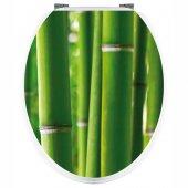 Naklejka na WC - Bambus