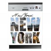 Naklejka na Zmywarkę - New York