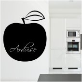 Naklejka tablica - Jabłko