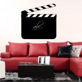 Naklejka tablica - Klaps Filmowy
