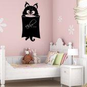Naklejka tablica - Kot