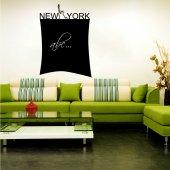 Naklejka tablica - New York