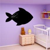 Naklejka tablica - Ryba
