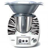 Naklejka Thermomix TM 5 - Zebra