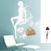 Naklejka wieszak - Kwiatowa Wróżka