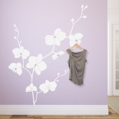 Naklejka wieszak - Orchidea