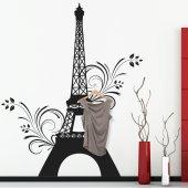 Naklejka wieszak - Wieża Eiffla