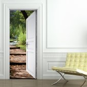 Nature Door Stickers