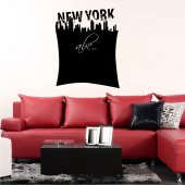 New York - Chalkboard / Blackboard Wall Stickers