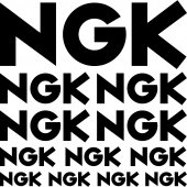 ngk Decal Stickers kit