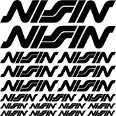 nissin Decal Stickers kit