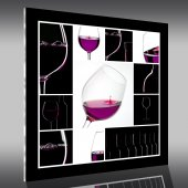 Obraz Plexiglas - Wino