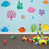 Ocean Set Wall Stickers