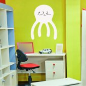 Octopus - Whiteboard Wall Stickers