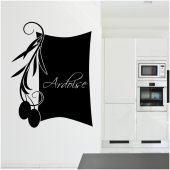 Olive Branch - Chalkboard / Blackboard Wall Stickers
