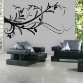 Olive branch Wall Stickers