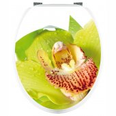 Orchid - Toilet Seat Decal Sticker