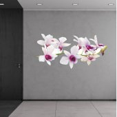 Orchid Wall Stickers