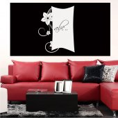 Orchid - Whiteboard Wall Stickers