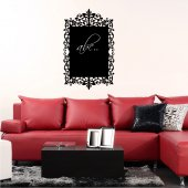 Ornament - Chalkboard / Blackboard Wall Stickers