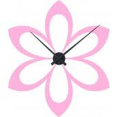 Orologio Adesivo fiore