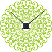 Orologio Adesivo orientale