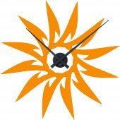 Orologio Adesivo sole