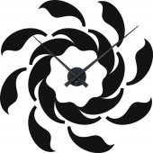 Orologio Adesivo spirale