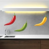 Peppers Set Wall Stickers