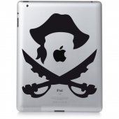 Pirate - Decal Sticker for Ipad 2