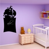 Pirate Ship - Chalkboard / Blackboard Wall Stickers