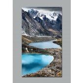 Plakat samoprzylepny - Pejzaż górski