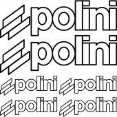 Polini Aufkleber-Set