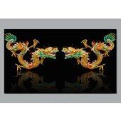 Poster Autocolante dragóns