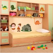 Prehistoric Set Wall Stickers