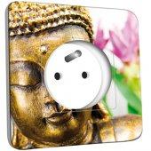 Prise décorée Bouddha