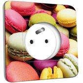 Prise décorée Macarons 01