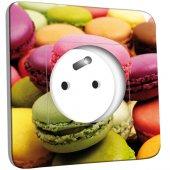 Prise décorée Macarons 4