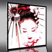 Quadro Plexiglass Geisha