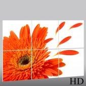 Quadro Triptico PVC flores
