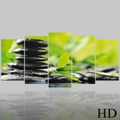 Quadro Triptico PVC Zen