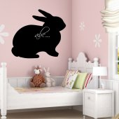 Rabbit - Chalkboard / Blackboard Wall Stickers