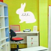 Rabbit - Whiteboard Wall Stickers