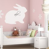 Rabbit - Whiteboard Wall Stickers