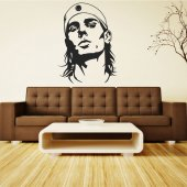 Rafael Nadal Wall Stickers