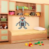 Robot Wall Stickers
