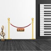 Rope VIP Wall Stickers