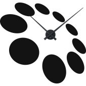 Round Clock Wall Stickers