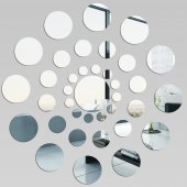 Round- Decorative Mirrors Acrylic