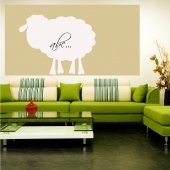 Sheep - Whiteboard Wall Stickers